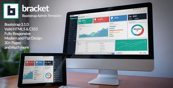 Bracket Responsive Bootstrap 3 Admin Template