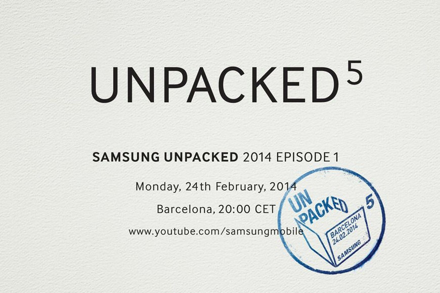Samsung Galaxy S5 en el Mobile World Congress de Barcelona