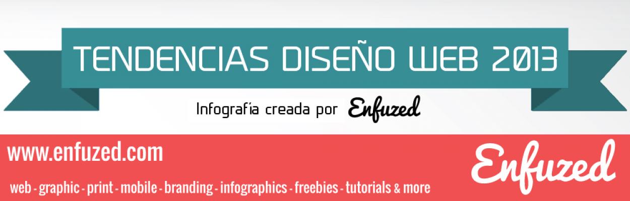Tendencias en diseño web en 2013